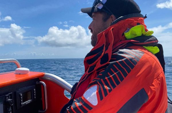 Coast Boat Trips Jack driving