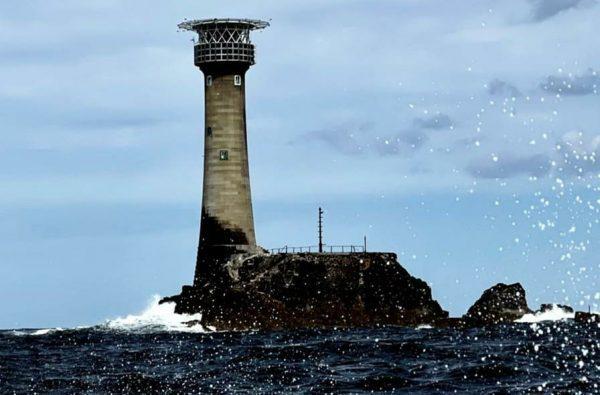Longships lighthouse landscape