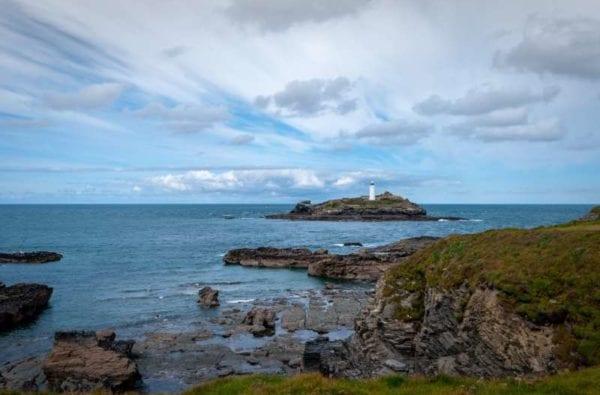 Godrevy lighthouse Cornwall