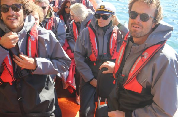 guests onboard and ready