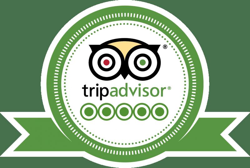 Tripadvisor 5 star reviews